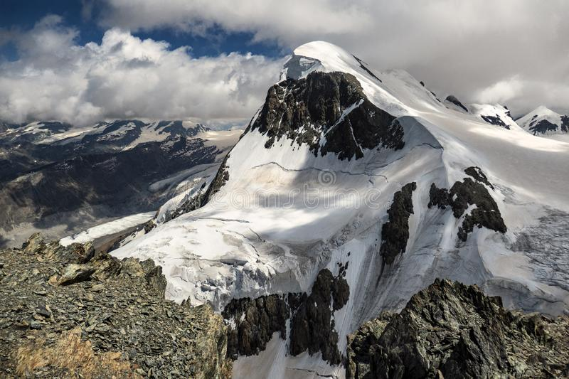 A view on mountain Brethorn stock images
