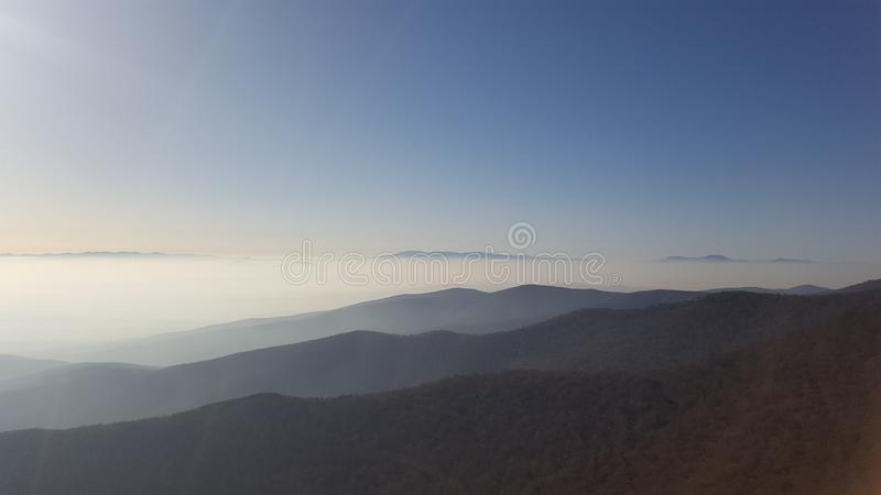 A view from the mountain royalty free stock images