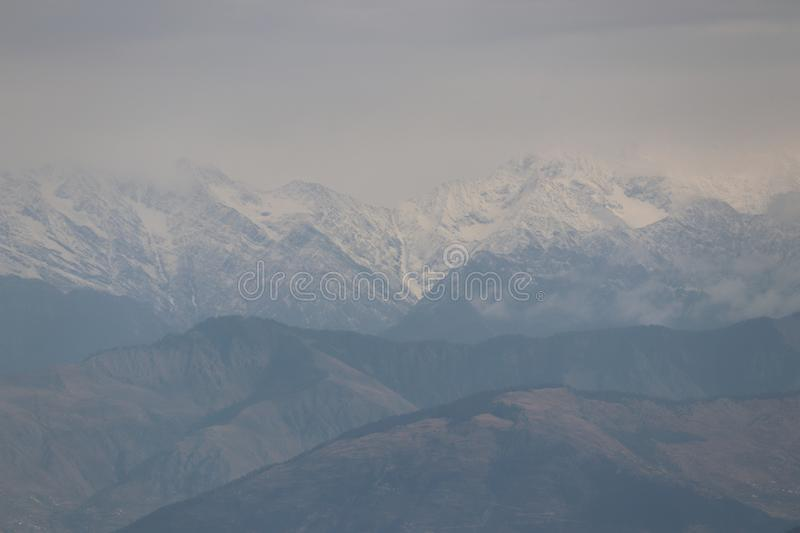 View of mountains royalty free stock photo
