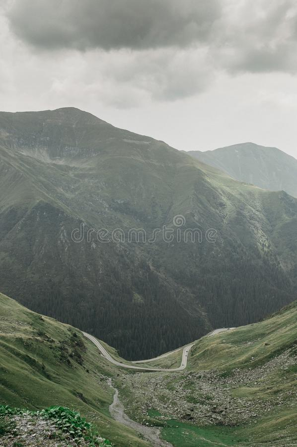 View of the mountains. royalty free stock images
