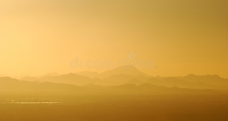 View of mountains surrounding Phoenix, Arizona. Scenery surrounding Phoenix, Arizona, United States royalty free stock image