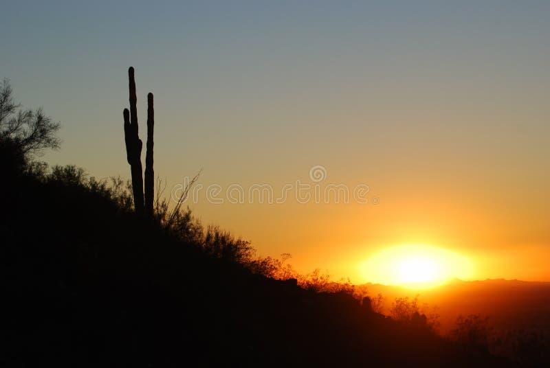 View of mountains surrounding Phoenix, Arizona royalty free stock images