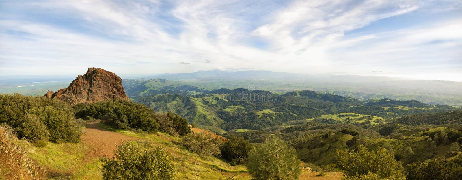 Download View from Mt Diablo stock image. Image of meadow, scenic - 15113981
