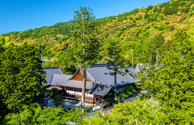 View of Nanzen-ji Temple in Kyoto stock images