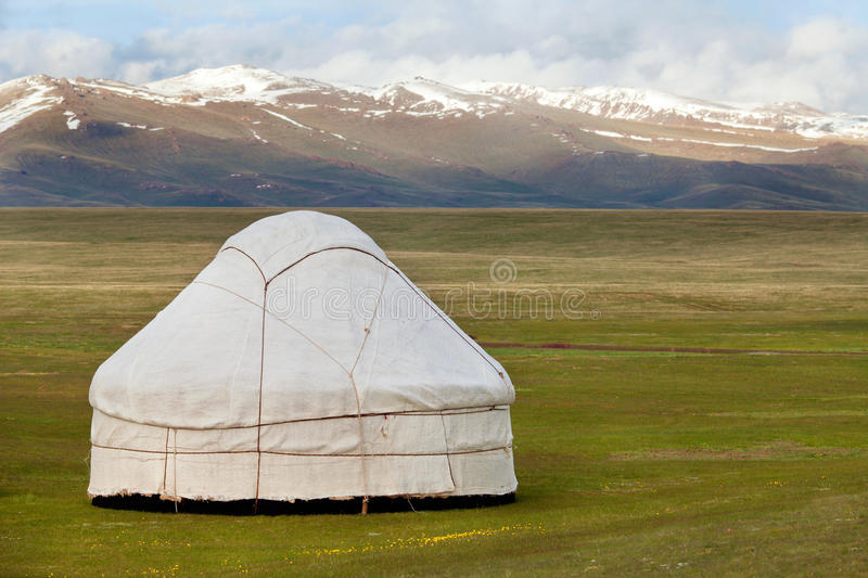 Download View Of National Asian Yurt Stock Image - Image: 29010995