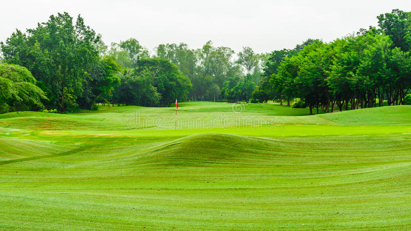 Download View Nature Landscape Of Beautyful Golf Course At Thailand : THE Stock Photo - Image: 34260762