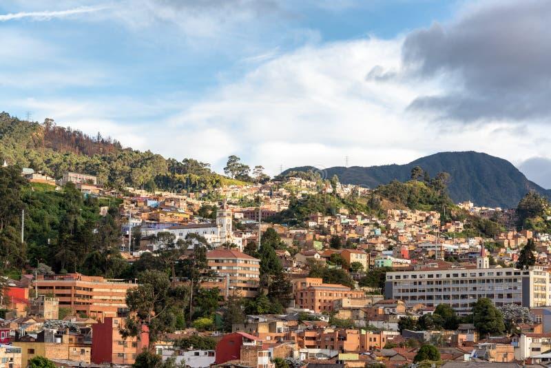 La Candelaria View in Bogota stock image