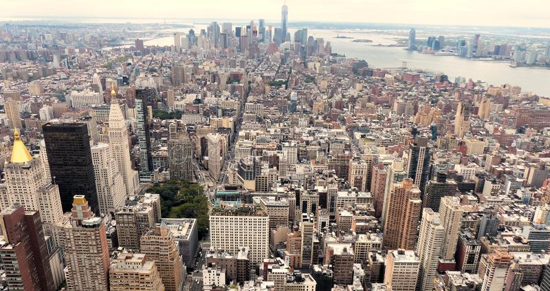 View of New York city stock image
