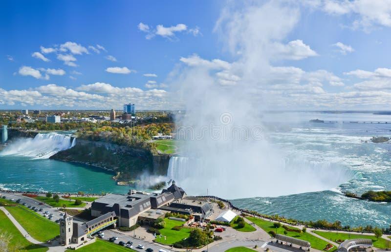 Download View of Niagara Falls stock photo. Image of orange, outdoors - 51975298