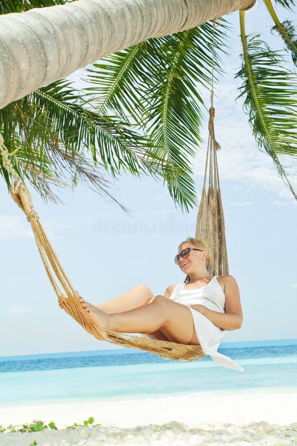 Download In tropic stock photo. Image of idyllic, hummock, happy - 29939292