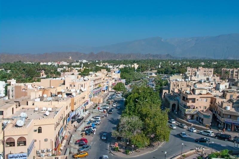 View of Nizwa, Oman. Middle East stock image