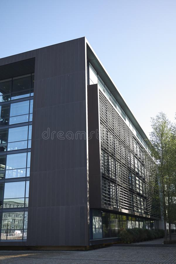 View of Nordea building royalty free stock photography