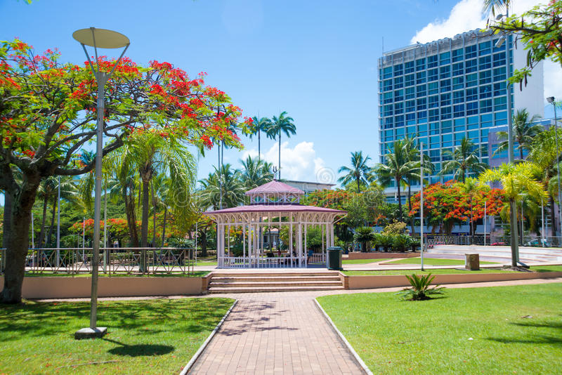 View of Noumea, New Caledonia stock images