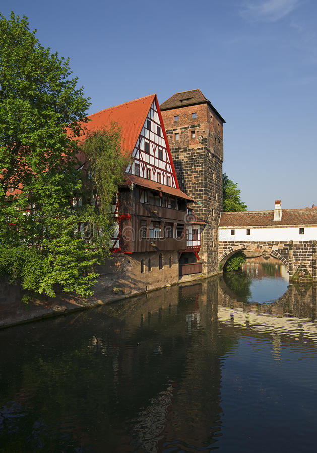 Download View Of Nuremberg In Bavaria Royalty Free Stock Photos - Image: 19319958