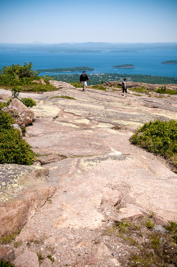 Free View Of Bar Harbor Maine USA Royalty Free Stock Photo - 15081155