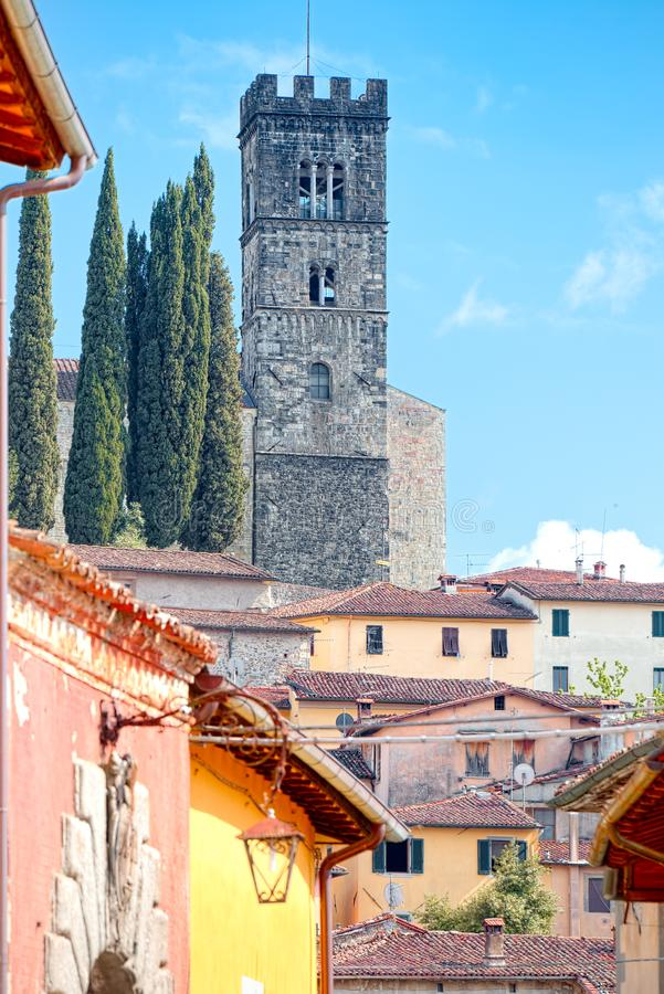 Free View Of Barga, Lucca, Tuscany. Royalty Free Stock Photo - 100289415