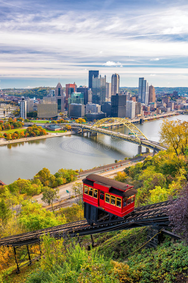 Free View Of Downtown Pittsburgh Royalty Free Stock Image - 80399396