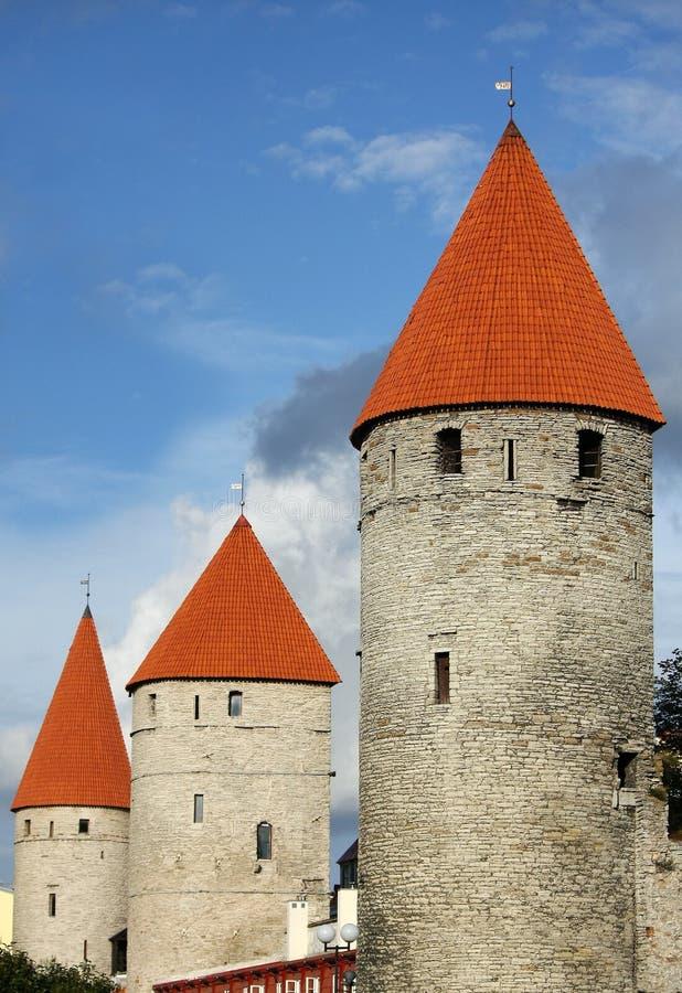 Free View Of Old Tallinn, Estonia Stock Image - 13327061
