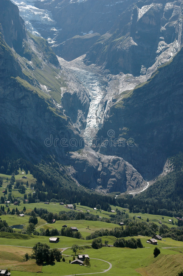 Free View Of The Eiger Valley Stock Images - 8956664