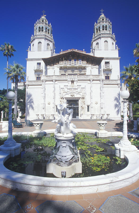 Free View Of The Enchanted Hill, Hearst Castle, San Simeon, CA Stock Images - 52305594