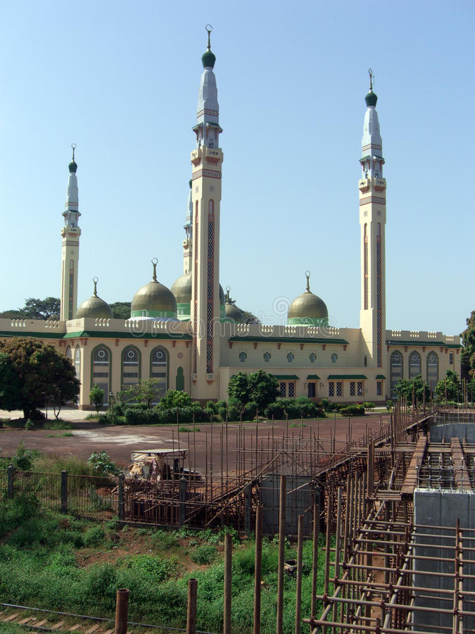 Free View Of The Grand Mosque In Conakry Stock Photos - 15791323