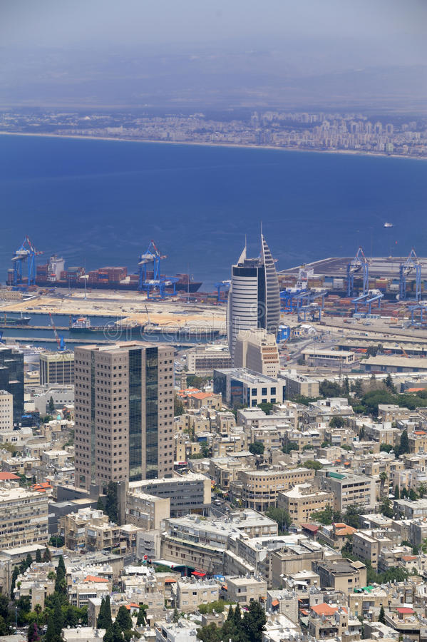 Free View Of The Haifa Royalty Free Stock Photo - 9805425