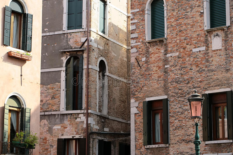 View of old ancient house royalty free stock photos