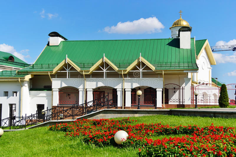 View of the old part of Minsk royalty free stock photos