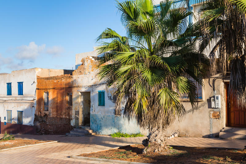 Download View Of The Old Part Of Sidi Ifni Stock Photo - Image: 83716934