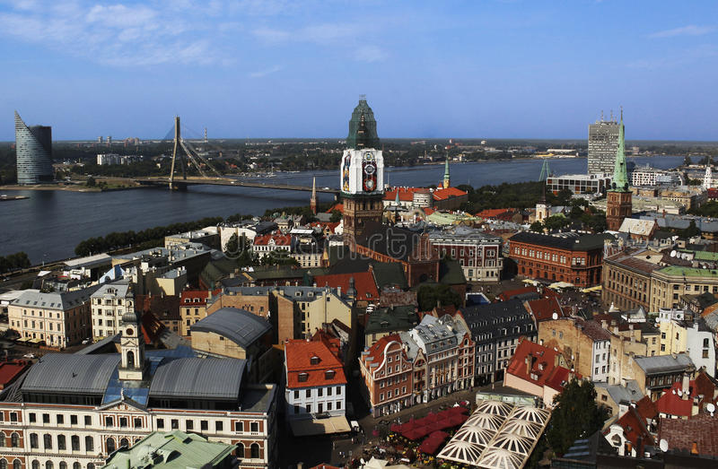 View of Old Riga royalty free stock photo