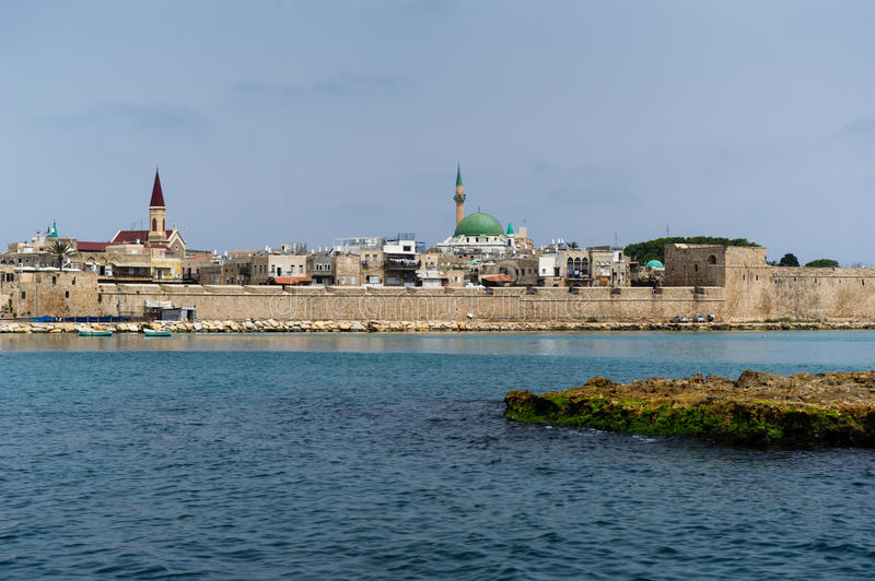 Download View On The Old Town Of Akko, Israel Stock Image - Image: 25495979