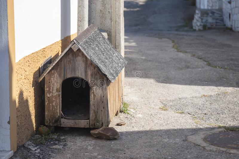 Wooden Guard house stock image. Image of europe, nobody ...
