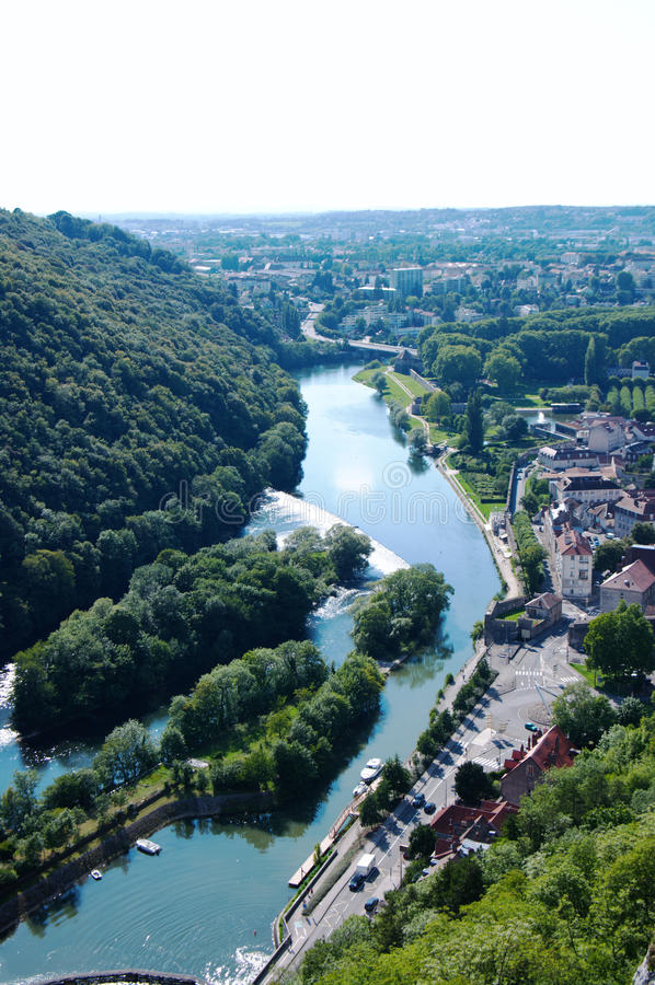 Free View On Besancon Royalty Free Stock Images - 21187809
