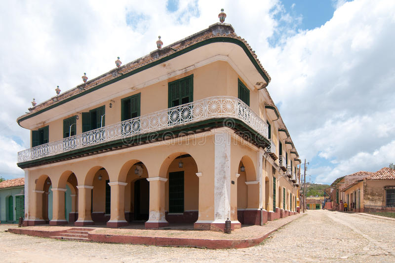 Download A View Of One Of Thebuildings In Trinidad, Cuba Stock Image - Image: 23305695
