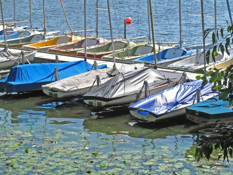 View Onto The Outer Alster Royalty Free Stock Images