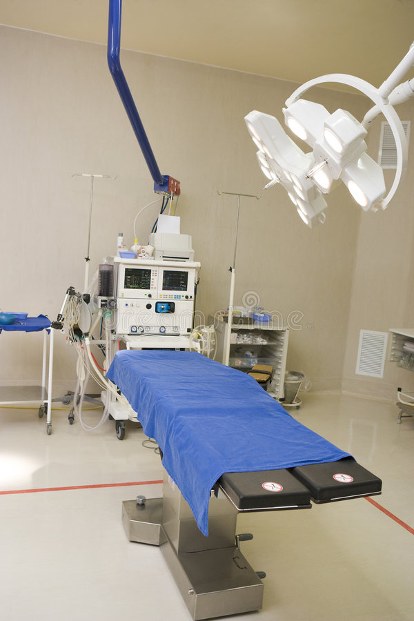 View Of An Operating Theatre.  stock photos