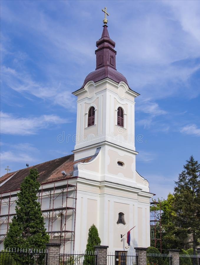 Orthodox Church of the Holy Archangel Michael in Kajiza, Serbia royalty free stock images