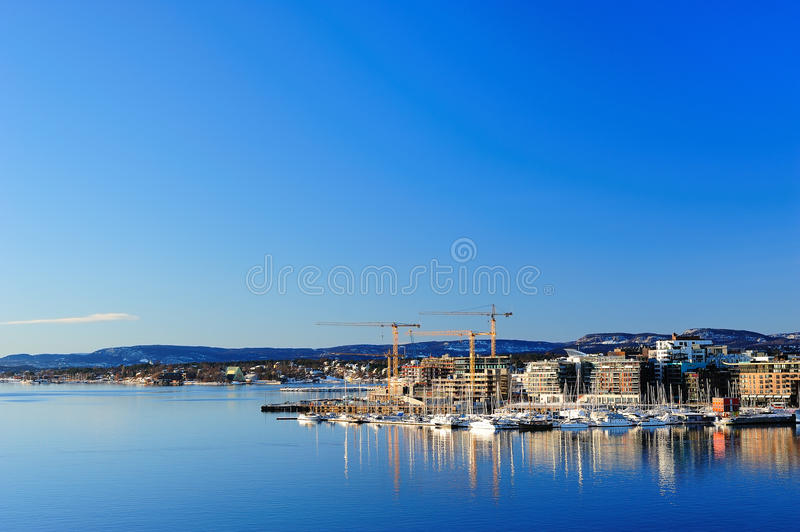 View of Oslo city royalty free stock images