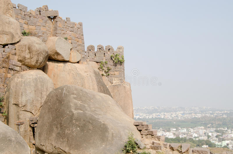 Download Golkonda Fort, Hyderabad stock photo. Image of fortress - 30159750