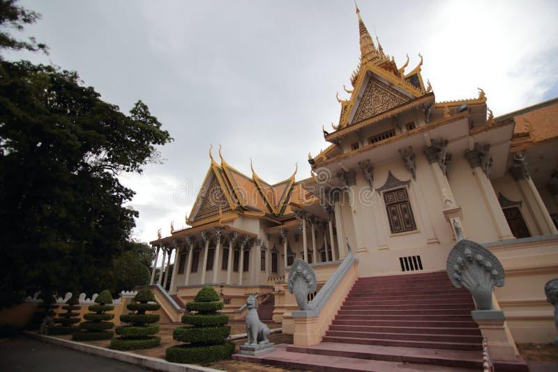 Royal Palace of Phnom Penh stock image