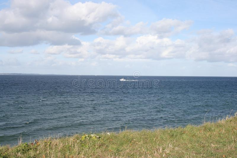View over the Baltic Sea royalty free stock images