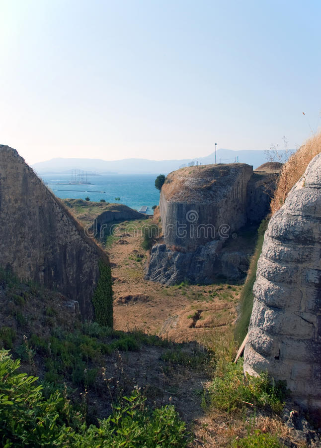 Download View Over The Bunkers In Old Stronghold Stock Photo - Image: 14079934