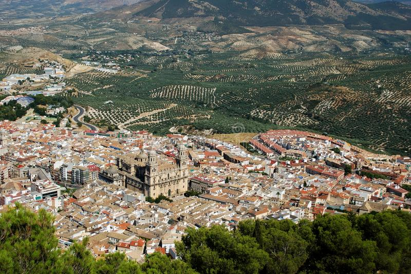 Download City View, Jaen, Andalusia, Spain. Stock Image - Image: 29823573