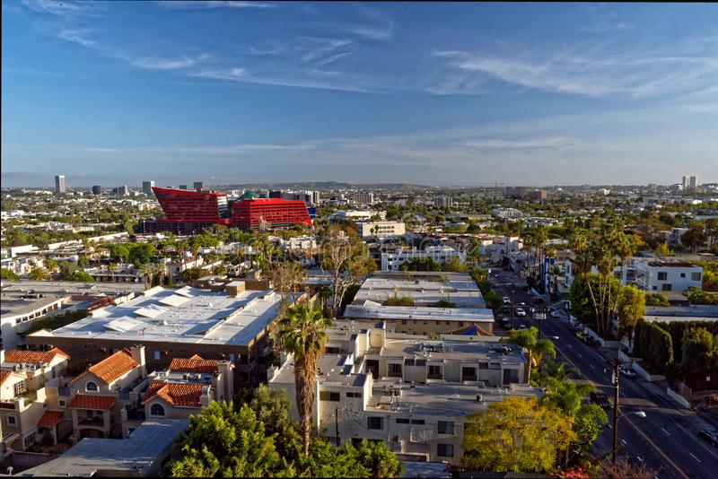 West Hollywood in Los Angeles stock photography