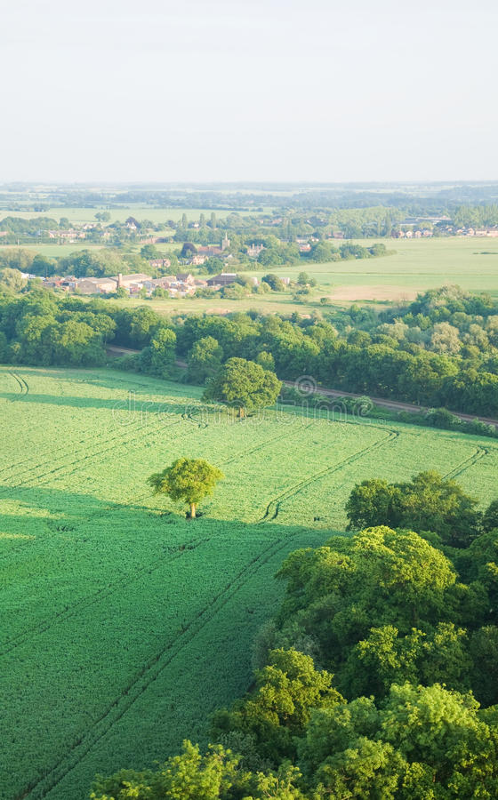 Download View Over The Early Summer Green Fields Stock Photo - Image of shadow, green: 14743246