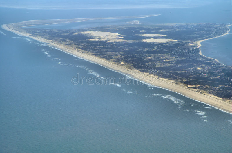 View Over German Island Sylt Stock Photo