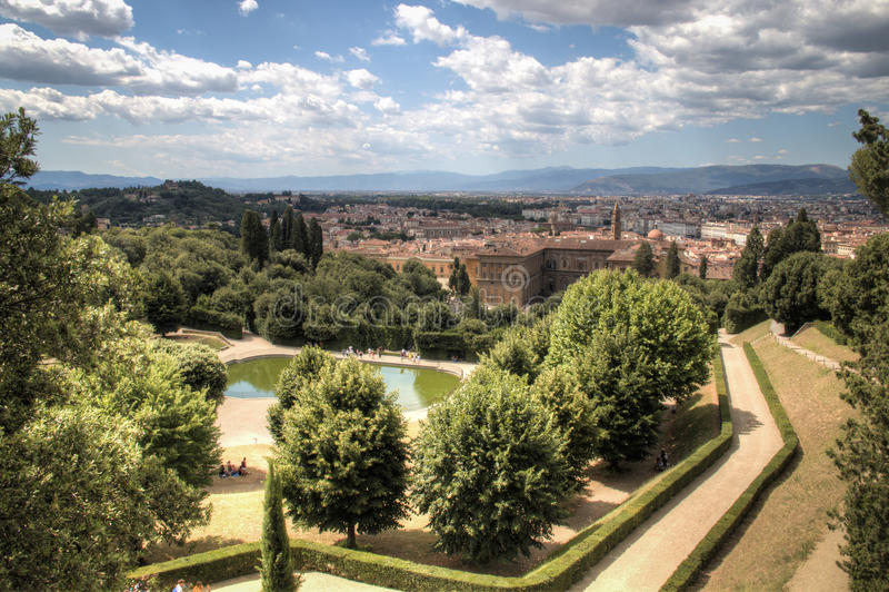 View over giardino di boboli in florence italy stock photo image of romantic style 75044622 - Giardino di boboli firenze ...
