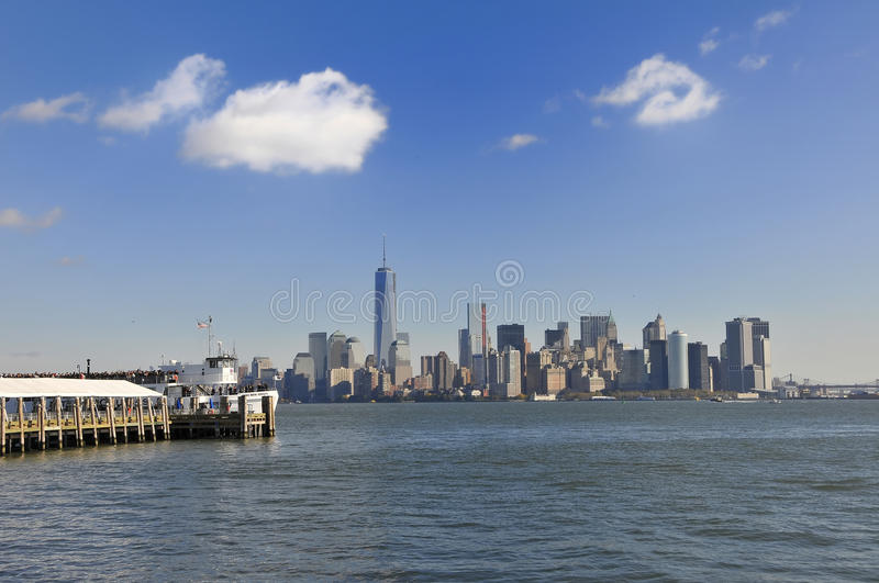 View Over Manhattan Stock Images