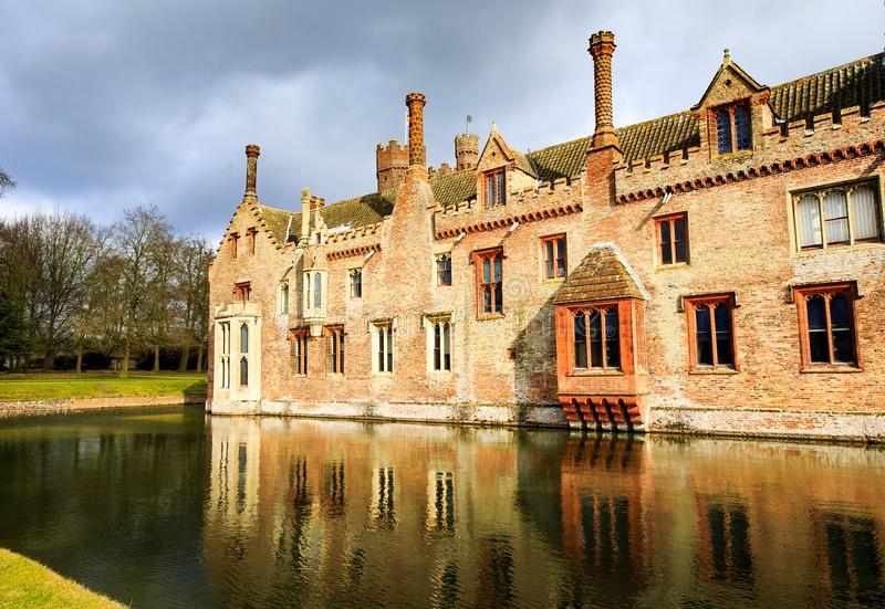 Oxburgh Hall National Trust royalty free stock images