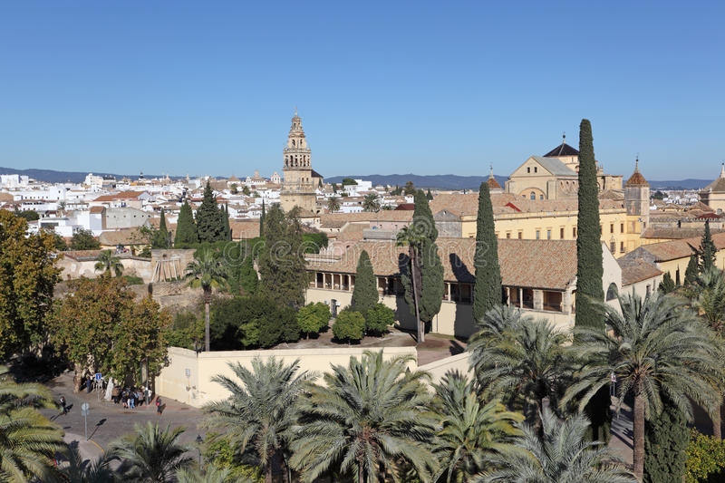 Download View Over The Old Town Of Cordoba Stock Photo - Image: 28361134